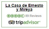 See our reviews in Tripadvisor from our guests over the years